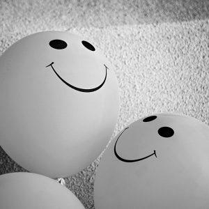 Lächeln hilft