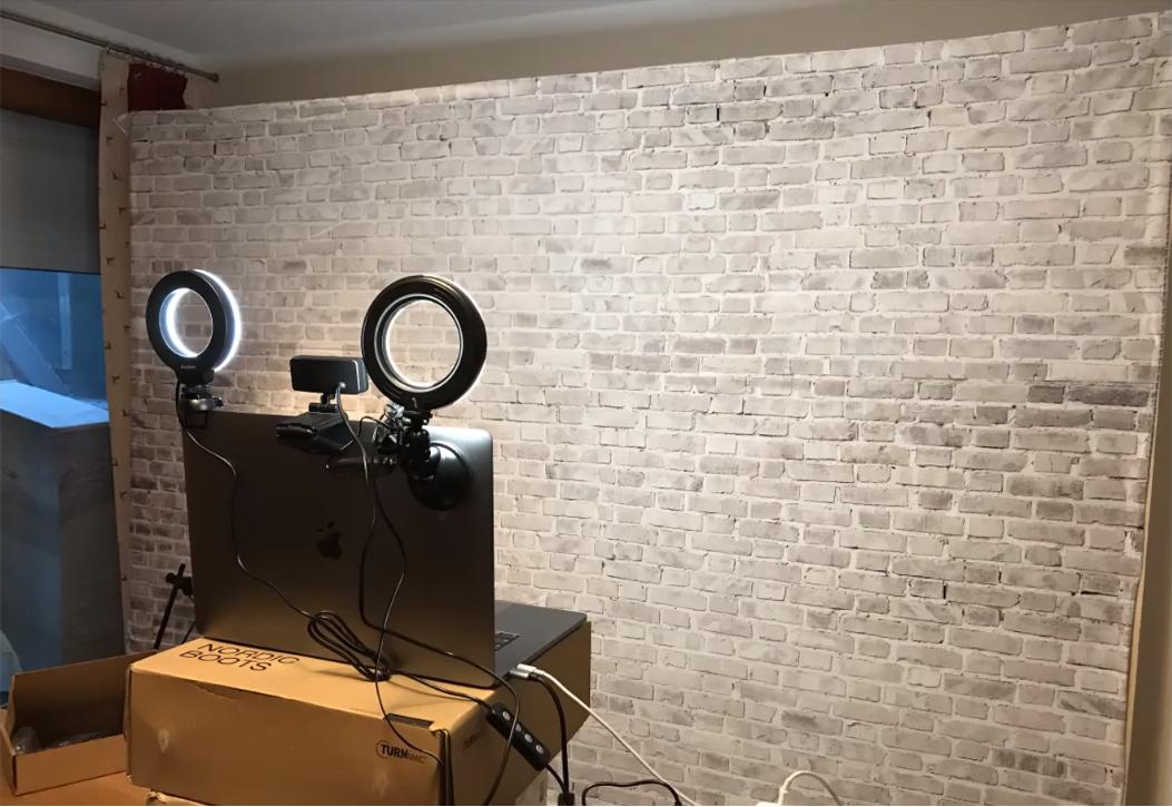 Studio für Videokonferenzen